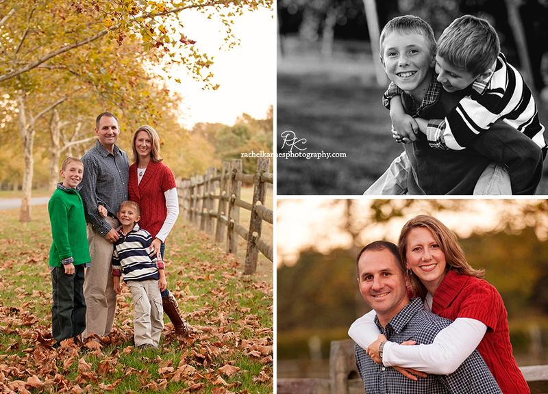 Williamsburg Fall Family Photo Session