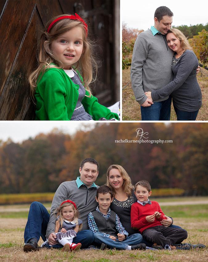 williamsburg fall family photos