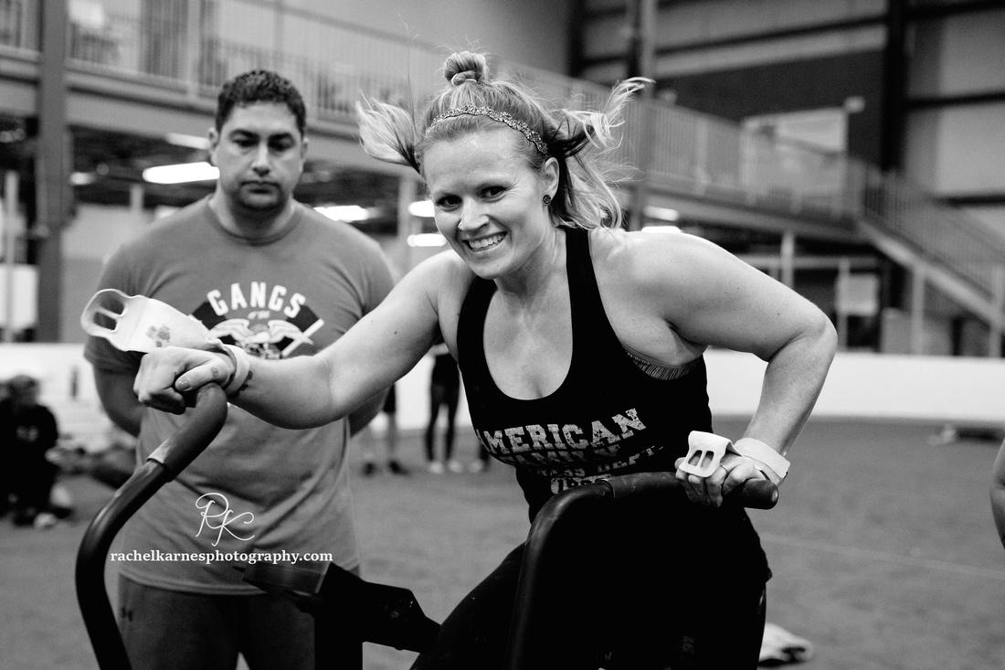female-athlete-on-air-assault-bike