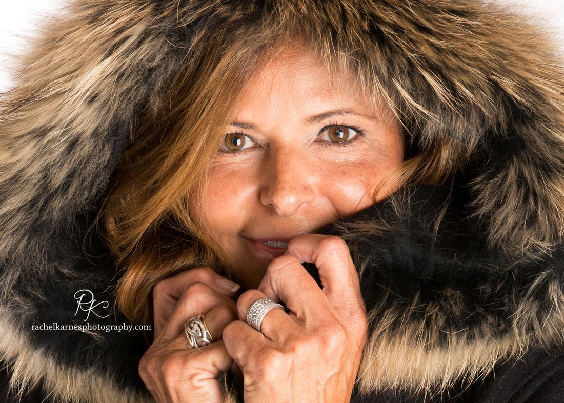 fur-hood-coat-and-irish-jewelery-model-photo