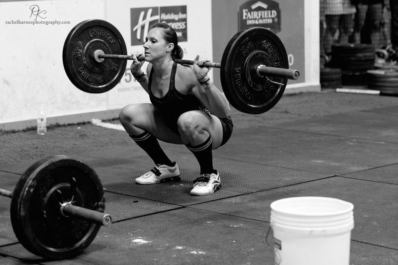 Crossfit back squat WOD VA