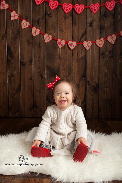 Children's Studio Valentines Photo Session