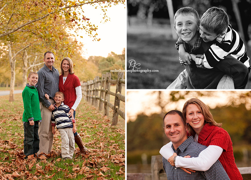 Williamsburg Fall Family Photo Session