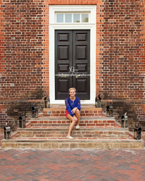 Williamsburg VA Senior Photo Session