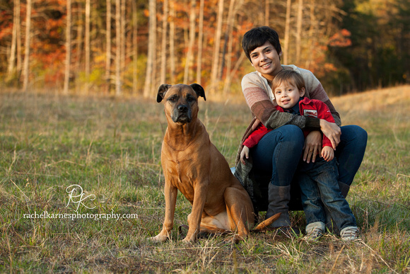 Customize Family Photos with a pet
