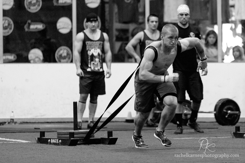 Crossfit Sled Pull WOD Williamsburg V