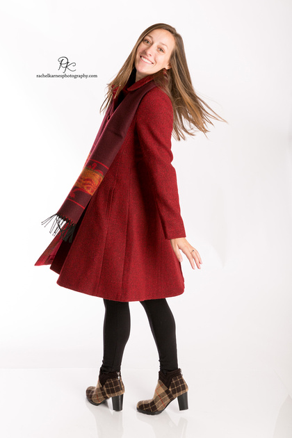 girl-modeling-red-swing-coat-in-williamsburg-va-product-shoot